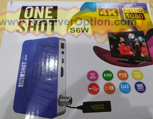 1NE SHOT S6W 1506TV BOARD HD RECEIVER SOFTWARE NEW UPDATE