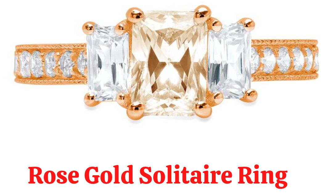 What Styles Do You Prefer for an Engagement Yellow Gold Solitaire Ring