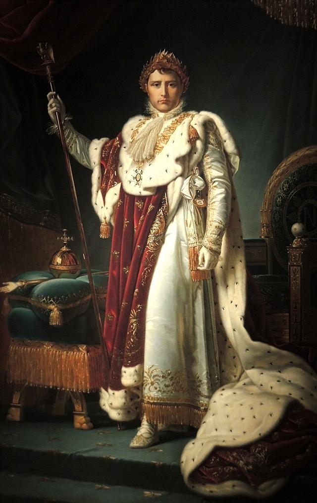 Keizer Napoleon I door het atelier van Baron Gérard