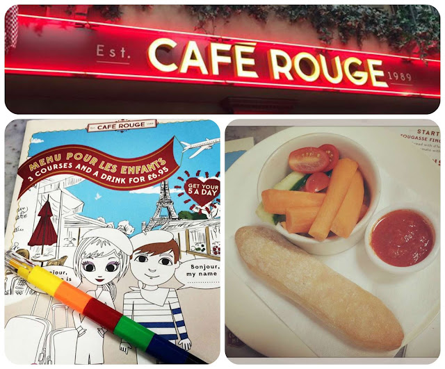 Cafe Rouge Kids Menu