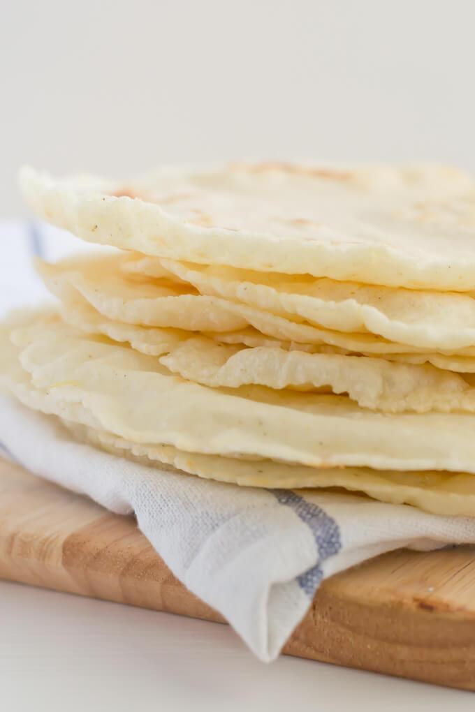 homemade tortillas - danceofstoves.com