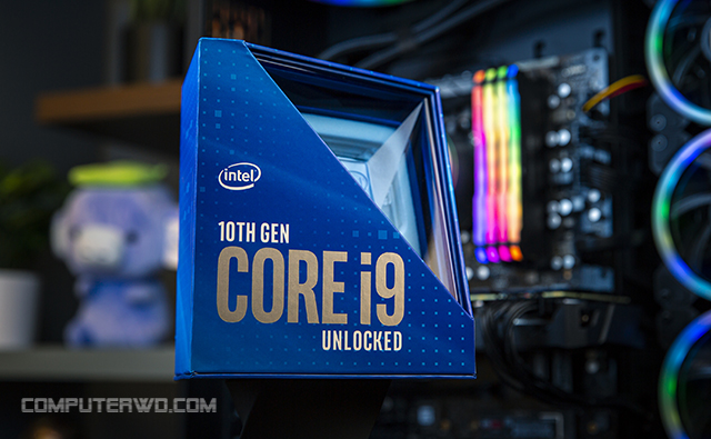كل ما تريد معرفته حول معالجات الجيل العاشر الجديدة من Intel عالم الكمبيوتر - Intel 10th generation processors computer-wd core i9.jpg