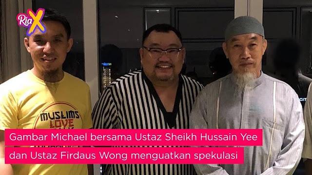 michael ang masuk islam