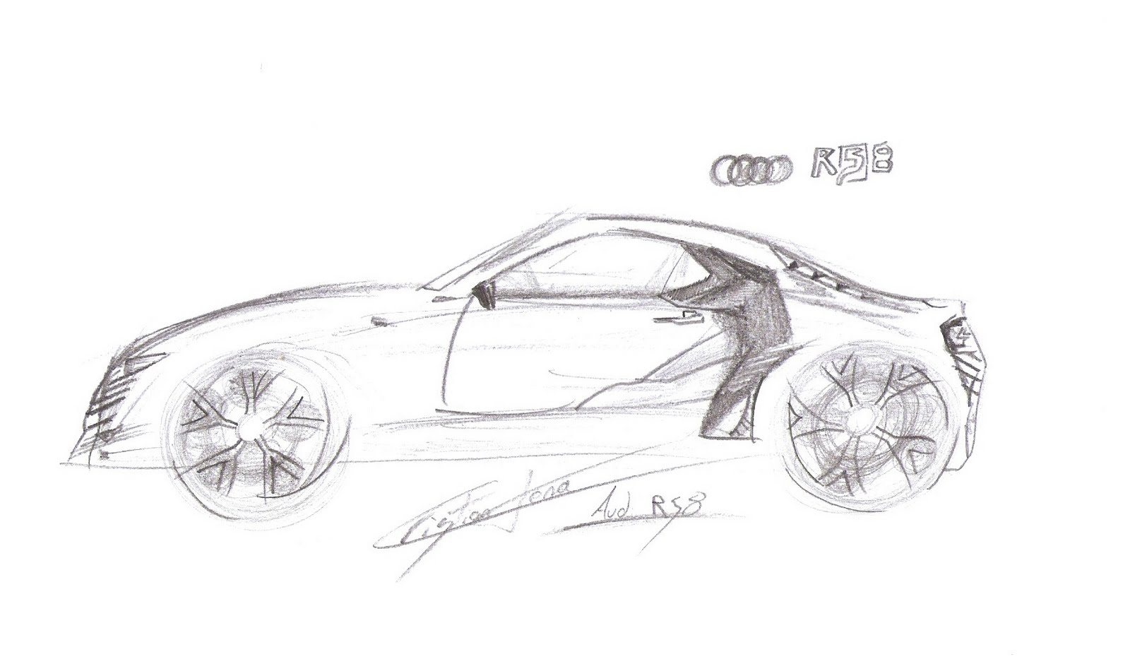 Cristian Tena Designs Audi Rs8