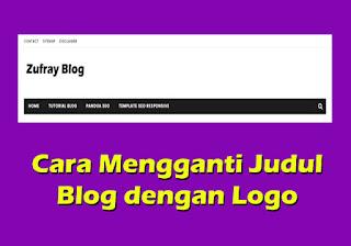 Cara Mengganti Judul Header Blog dengan Gambar/Logo - Cara 1