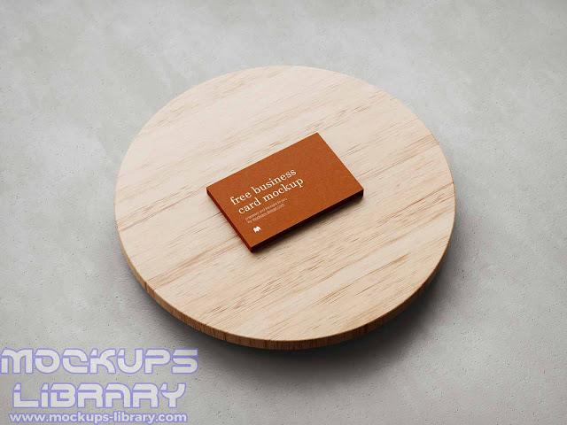 free business card mockup 4