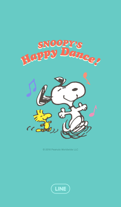 SNOOPY'S Happy Dance