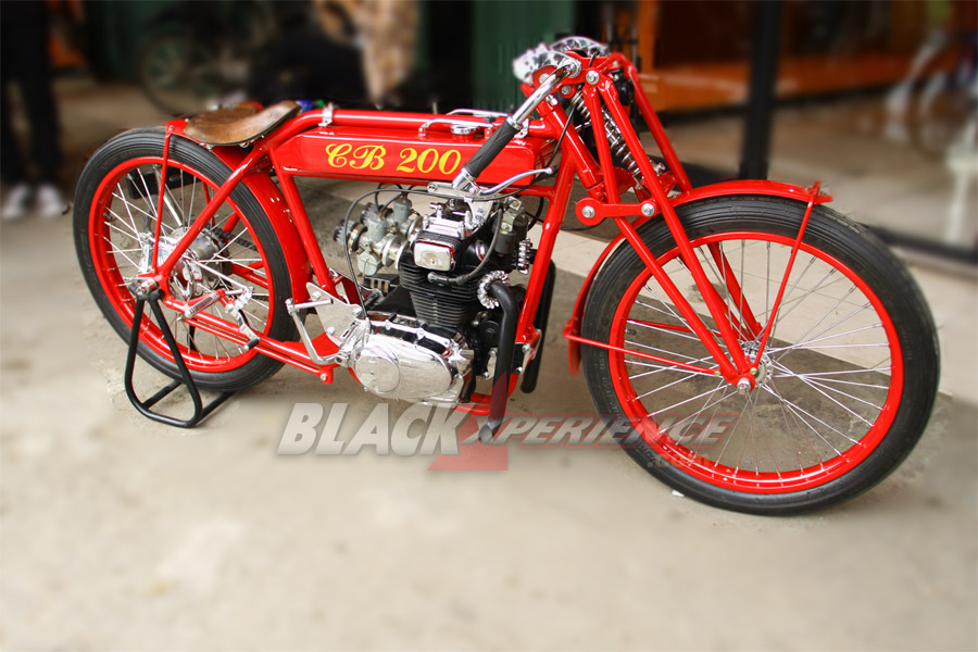 motor cb200 full custom - Blackxperience