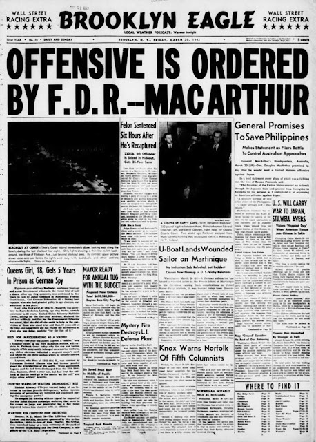 Brooklyn Eagle, 20 March 1942 worldwartwo.filminspector.com