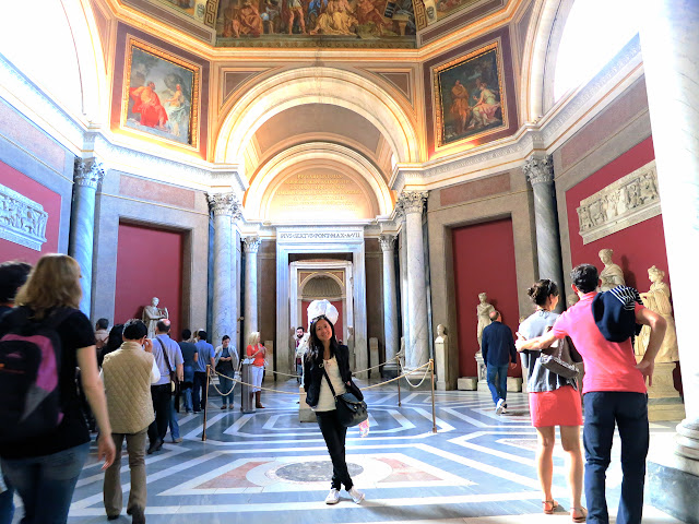 Hall of the Muses, Vatican Museums
