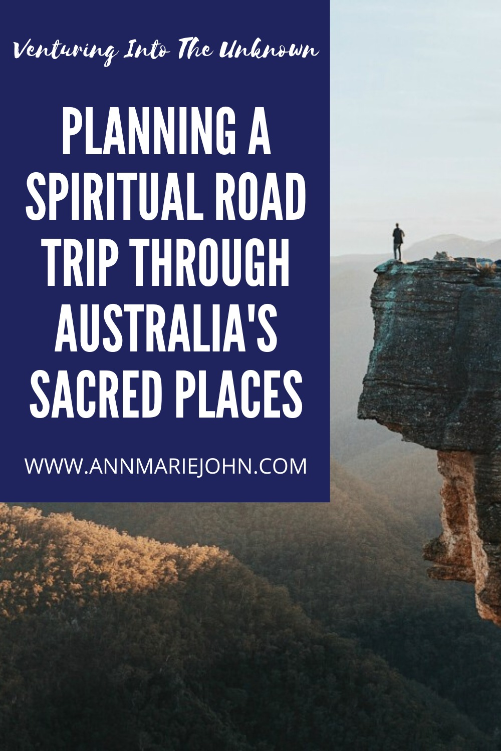 Planning a Spiritual Road Trip Through Australia's Sacred Places Pin