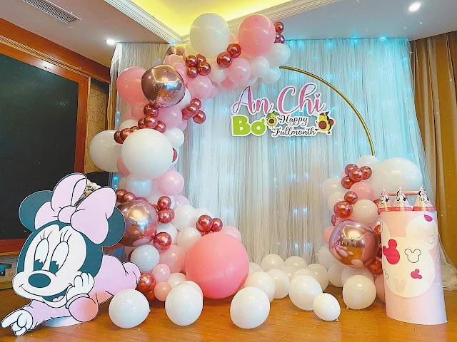 trang trí sinh nhật cho bé tại cầu giấy