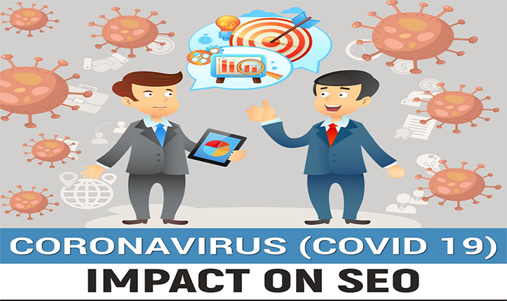 Coronavirus (Covid 19) Influences SEO! #infographic