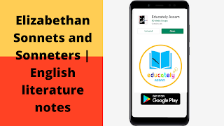 Elizabethan Sonnets and Sonneters | English literature notes