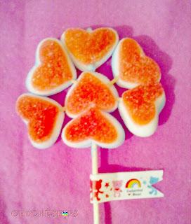 Flor de Chuches Corazón
