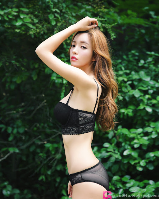 Jin Hee  Lingerie Set very cute asian girl - girlcute4u.blogspot.com (1)
