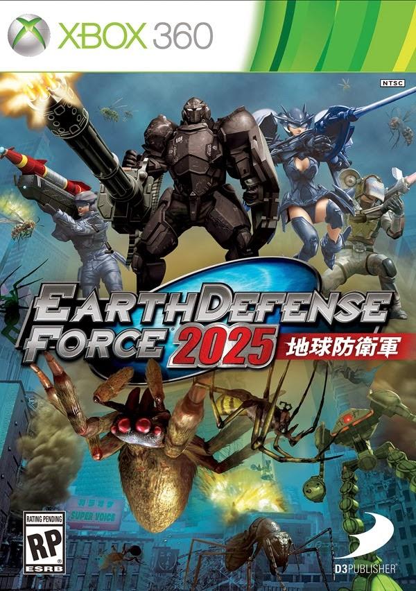 Earth Defense Force 2025 XBOX 360 ESPAÑOL