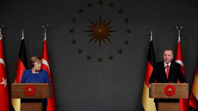 """Η Μέρκελ """"τάζει"""" κι άλλη χρηματική βοήθεια στον Ερντογάν"""