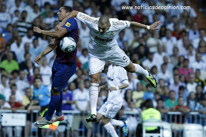 Fotos del Madrid-Barça editadas con Photoshop (ida de la Supercopa 2011)