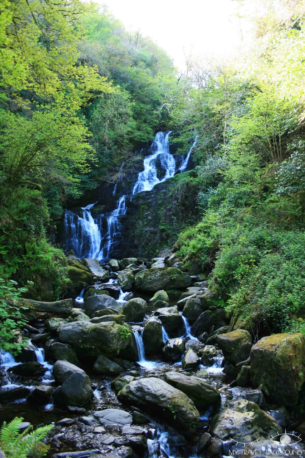 My Travel Background : A la découverte du Ring of Kerry en Irlande - Cascade de Torc