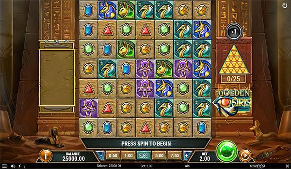 Main Gratis Slot Indonesia - Golden Osiris (Play N GO)