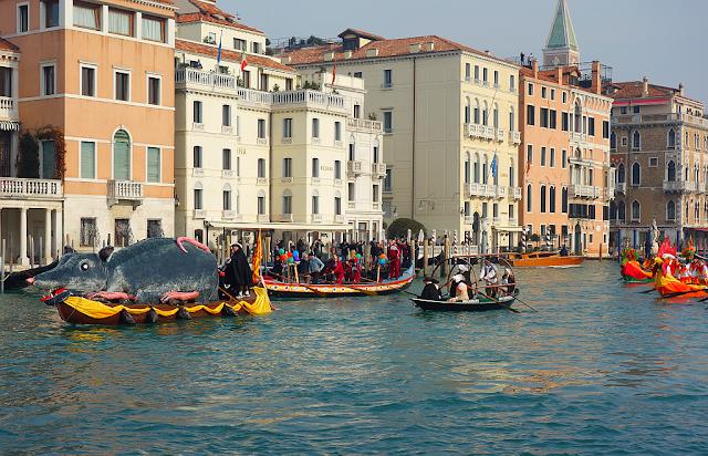 Benátský karneval 2021. Termín a program, vodní původ, část 2