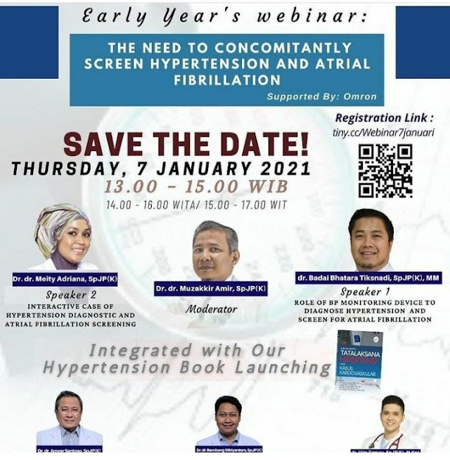WEBINAR The Need to Concomitanly Screen Hypertension and Atrial Fibrilation