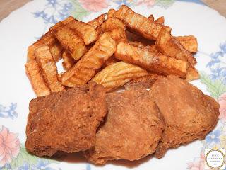 Soia snitele cu cartofi prajiti reteta,