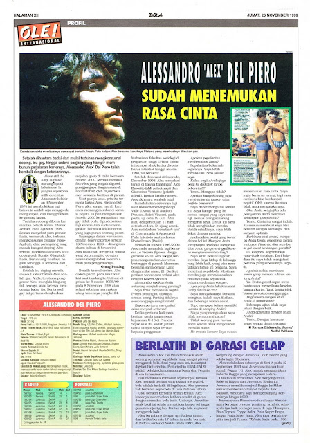 PROFILE ALESSANDRO 'ALEX' DEL PIERO