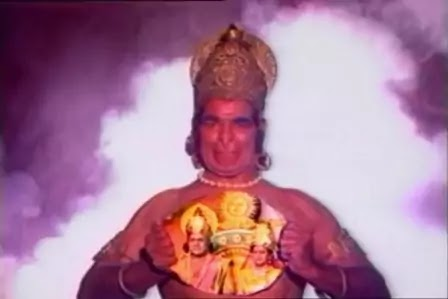 Lord Hanuman in Ramayana
