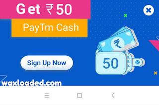 Get 100rs free Paytm Cash