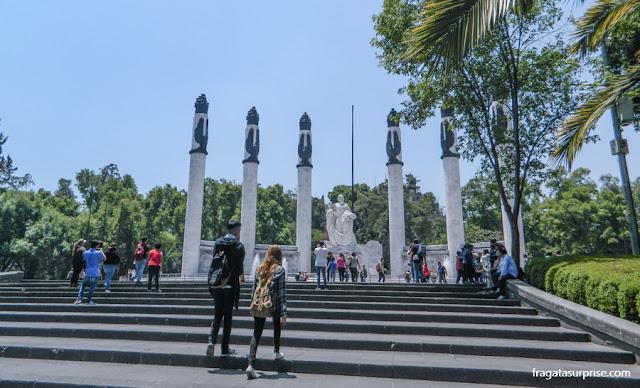 Cidade do México - Monumento aos Meninos Heróis no Bosque de Chapultepec