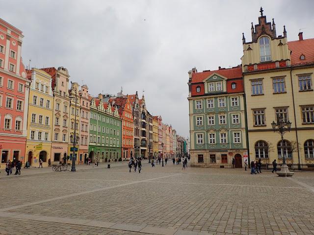 Wrocławski rynek, luty 2018