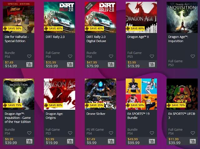 تخفيضات PS Plus Specials انطلقت الآن على متجر PlayStation Store و خصومات لغاية 80%