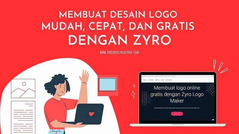 desain logo gratis dengan zyro