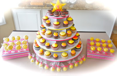 Cupcake Towers and Dessert Tables with Cake Pops in Burbank, CA