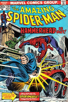 Amazing Spider-Man #130, Hammerhead, the Jackal and the Spider-Mobile