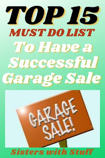 Top 15 Must Do List To Have a Successful Garage Sale