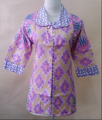 Contoh Baju Batik Kerja Terbaru