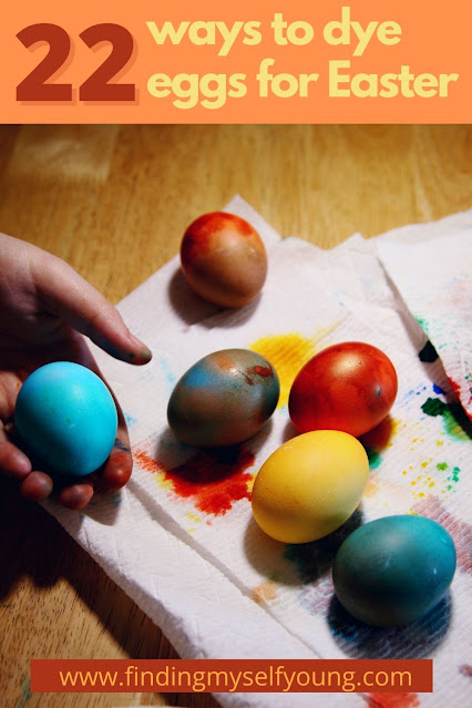 22 ways to dye eggs for easter