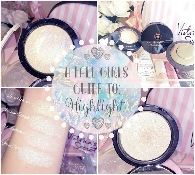 A Pale Girls Guide To Highlight | Anastasia, Becca & MAC