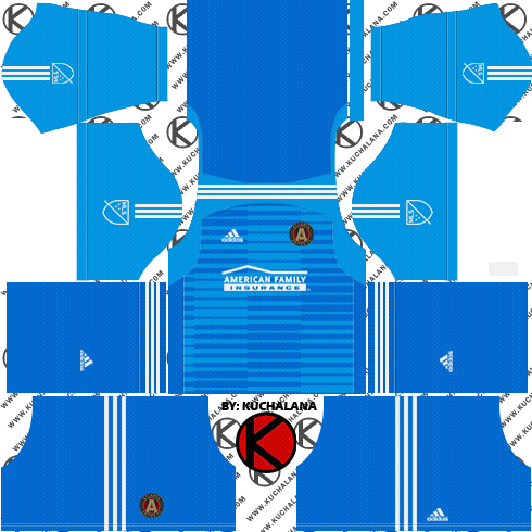 newest 8df9d c4fb7 Atlanta United 2018 - Dream League Soccer Kits - Kuchalana