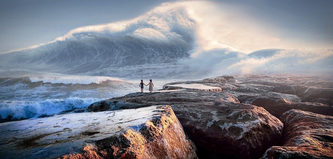 ♝ Teranyar Arti mimpi hendak tsunami