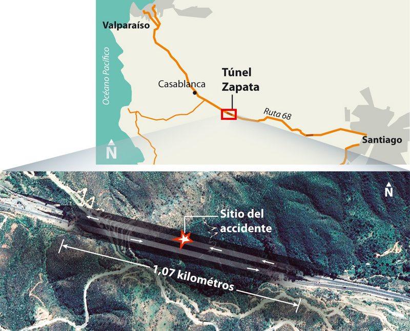 Cómo fue el choque por alcance de la diputada Daniella Cicardini en el túnel Zapata