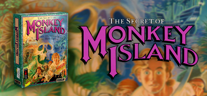 The Secret of Monkey Island IBM PC 3½ (ERBE, 1990)