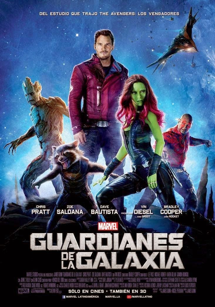 Guardianes de la galaxia Ver gratis online en vivo streaming sin descarga ni torrent