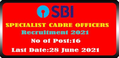 SBI Fire Engineer Recruitment 2021