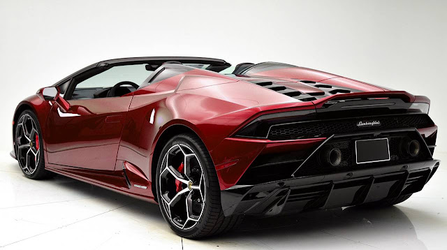 all-new-2020-Lamborghini-Huracan-EVO-Spyder-red
