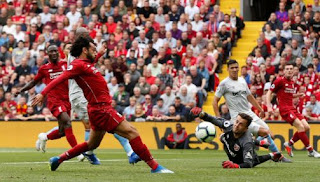 Liverpool vs West Ham United 4-0