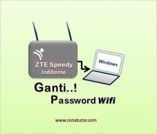 Cara Mengganti Password Wifi ZTE Speedy Indihome
